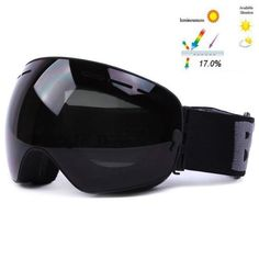 buy online a2bcd 6704c New Benice Brand Ski Goggles Double Layers Uv400 Anti-Fog Big Ski Mask  Glasses Skiing Men Women Snow