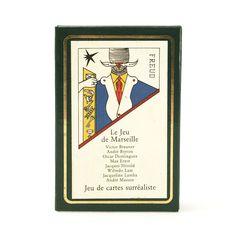 André Breton Jeu de cartes surréaliste / Le jeu de Marseille / Grimaud / Beyeler in Antiquitäten & Kunst, Design & Stil, 1920-1949, Art Déco |  - www.cyan74.com - vintage & pop culture | SOLD