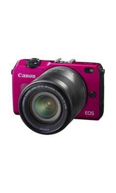 Canon EOS M2 with 18-55mm Lens (Pink) - International Version (No Warranty)