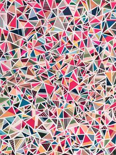 Greg Lamarche paper collage
