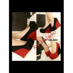 Sepatu Wanita, Wedges Grivano Hitam