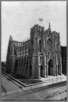 Saint Patrick Cathedral, New York City 1880