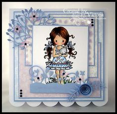 Fairy Sketch, Craftwork Cards, Wooden Hearts, Copics, Blank Cards, Cute Cards, Cool Websites, Christmas Themes, Homemade Cards