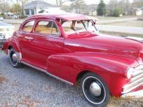 1947- chev. coupe $9,000.00