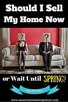 Should I List My Home in January or Wait Until Spring: http://www.maxrealestateexposure.com/list-my-home-now-or-wait-until-spring/