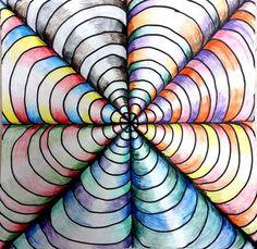 Ainika1's+art+on+Artsonia Color Theory + Op Art
