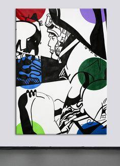 Acrylic on canvas - 162x130cm - Benjamin Spark