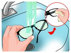 oakley half jacket replacement lenses black iridium polarized yms5  How to Remove Scratches From Plastic Lenses -- via wikiHowcom