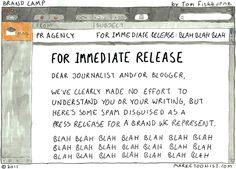 For immediate release - Tom Fishburne