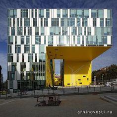 Офис La Cite Des Affaires от Manuelle Gautrand Architecture. Сент-Этьен, Франция.