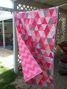 Baby Hayes Quilt by mrs.heatherb, via Flickr