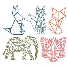 Geometric Animal Cuttable Design Cut File. Vector, Clipart, Digital Scrapbooking Download, Available in JPEG, PDF, EPS, DXF and SVG. Works with Cricut, Design Space, Sure Cuts A Lot, Make the Cut!, Inkscape, CorelDraw, Adobe Illustrator, Silhouette Cameo, Brother ScanNCut and other compatible software.
