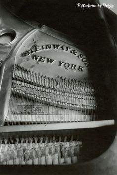 Steinway and Son New York Piano  8X10 Fine by DepictionsbyDolge, $4.25