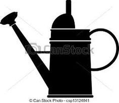 Image result for watering can stencil