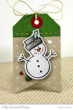 Snowman Gift Tag!