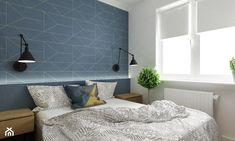 Pastelowe 48m2 - Sypialnia, styl skandynawski - zdjęcie od Grafika i Projekt architektura wnętrz