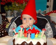 Restless Risa has taken the gnome theme and created an incredibly adorable, yet simple party out of it!  I love her ideas!!!
