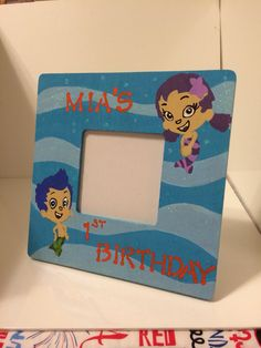 Bubble guppies frame by FabulousFramesXO on Etsy