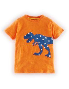 Mini Boden Graphic Appliquee T-Shirt.                                                                                                                                                                                 More