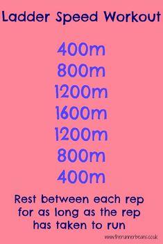 Speedwork Workouts for Marathon Training - The Runner Beans Speed Workout, Track Workout, Workout Guide, Running Drills, Running Workouts, Interval Running, Running Humor, Running Tips, Endurance Training