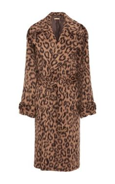Michael Kors Collection Leopard Coat