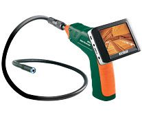 """Extech BR250: Video Borescope/Wireless Inspection Camera  9mm camera diameter and 3.5"""" Color TFT LCD Wireless Monitor"""