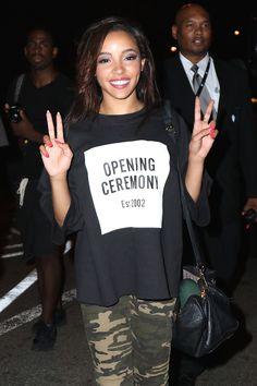 Image result for nicki minaj tinashe Tinashe, Opening Ceremony, Nicki Minaj, Image, T Shirt, Beautiful, Tops, Women, Fashion