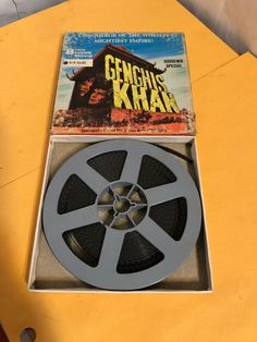 Looks ok but didn't watch it-box has finish wear -& stains—see photos for condition. Super 8 Film, 8mm Film, Genghis Khan, Film Reels, Columbia Pictures, Home Movies, Stains, Watch, Box