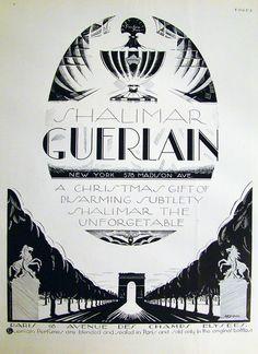 Guerlain Shalimar, 1928