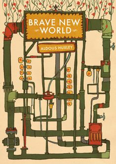 Brave New World - a book by Aldous Huxley, published in 1932 - set in the distant future where people are cloned and have their i.q and destiny pre determined by the totalitarian (love that word) state.