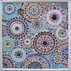 Mosaic Circles by Tiffany Miller