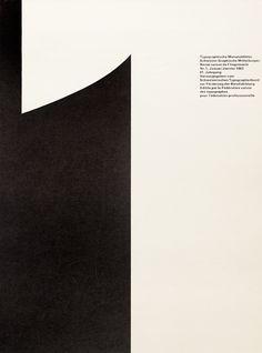 Typographische Monatsblätter, Issue 1 – André Gürtler & Bruno Pfäffli, 1962