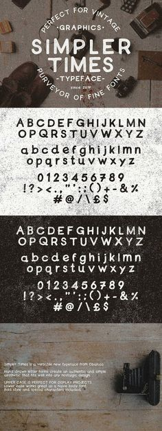 Simpler Times Typeface. Best Fonts Hipster Fonts, Simple Aesthetic, Letter Form, Sans Serif Fonts, Cool Fonts, Display Case, How To Draw Hands, Lettering, Times