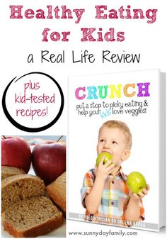 Learn how to help your picky eaters love food with a new book and kid-tested healthy recipes! Put a stop to stressful family dinners. Healthy Eating For Kids, Get Healthy, Healthy Recipes, Healthy Living, Life Review, Cooking With Kids, Kids Health, Kid Friendly Meals, Picky Eaters