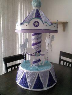 Piñata~Carousel Pinata  by SmashingFunCreations on Etsy