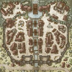 City of Moarkaliff by gogots (see comment) : battlemaps