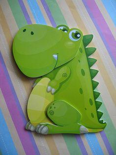 fun foam dinosaur-4