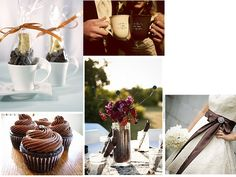 CoffeeLover : PANTONE WEDDING Styleboard : The Dessy Group