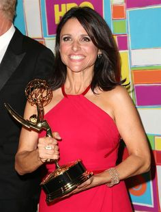 """""""Veep"""" star Julia Louis-Dreyfus attends HBO's annual Primetime Emmy Awards post-show reception at Pacific Design Center in West Hollywood on Aug. 25, 2014"""