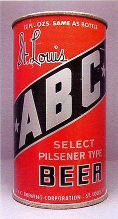 ABC St. Louis Select Pilsner ,c1938