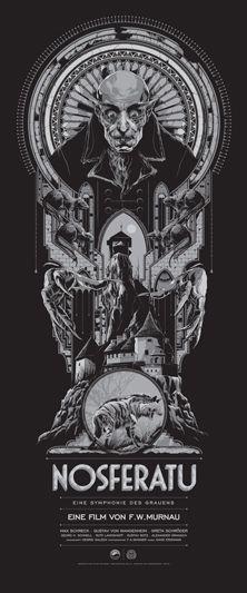 NOSFERATU poster by Ken Taylor via Mondo