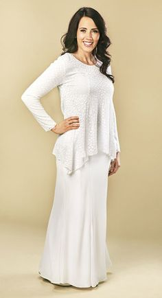 b2f85b6017 Beautiful Temple Dresses any LDS Woman Would Love Temple Dress