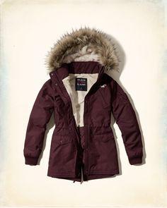 Girls Hollister All-Weather Parka | Girls Jackets & Outerwear | HollisterCo.com