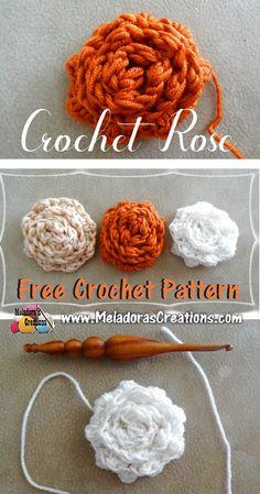 Crochet Rose – Free