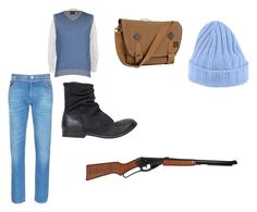 """""""JOHN SMITH FOR A DAY"""" by ekomkaleka on Polyvore featuring Air Jumper by Scaglione, Valentino, Timberland, The Last conspiracy, Drumohr, men's fashion and menswear"""