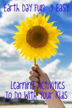 3 Easy Learning Activities to do with Your Kids
