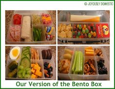 Joyously Domestic: Our Version of the Bento Box