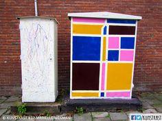 kunstkast marielle wegman Urban Street Art, Box Art, Holland, Painting, Seeds, Shop Signs, Dutch Netherlands, Painting Art, Netherlands