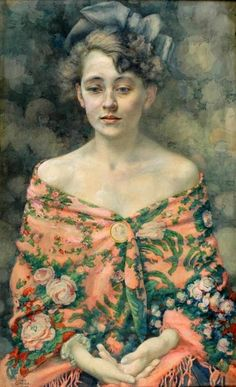 Portrait of a Girl, Ivan Cipera