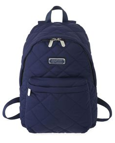 Marc by Marc Jacobs Crosby Quilt Backpack in India Ink
